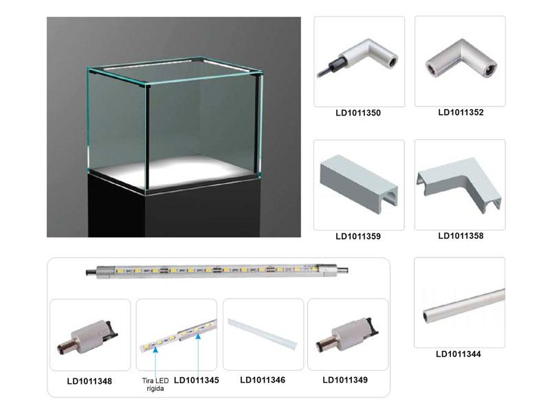Vitralux - Iluminación LED a medida para Vitrinas