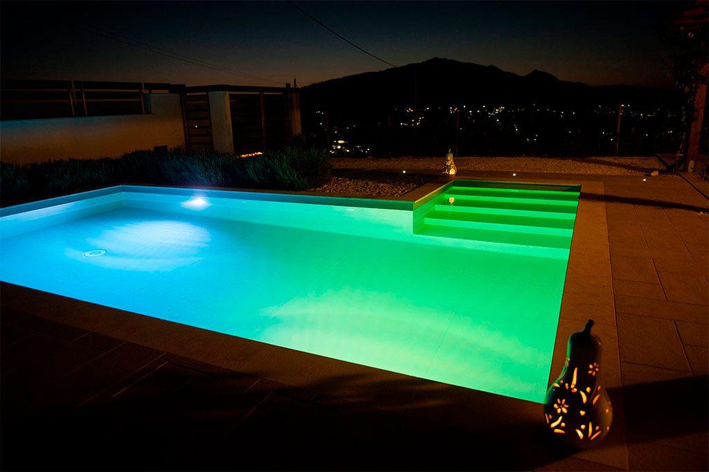 luces led para piscinas