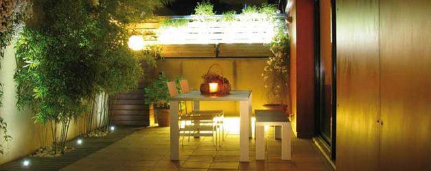 Iluminación led para exterior