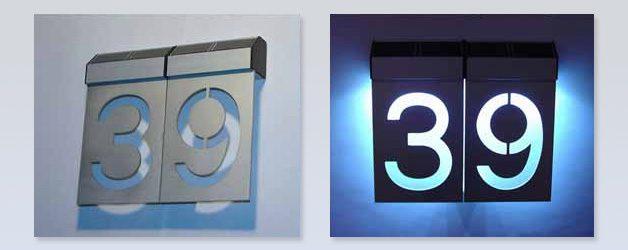 Iluminación numérica led